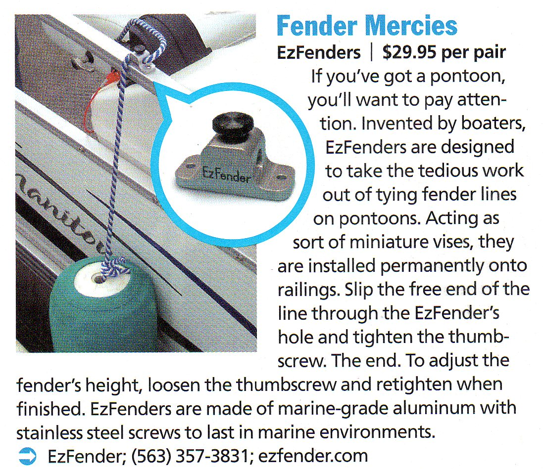 EzFender Boating World Review